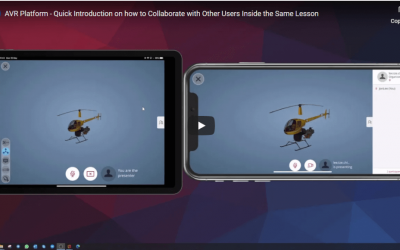 AVR Platform – Quick Introduction on how to Collaborate with Other Users Inside the Same Lesson